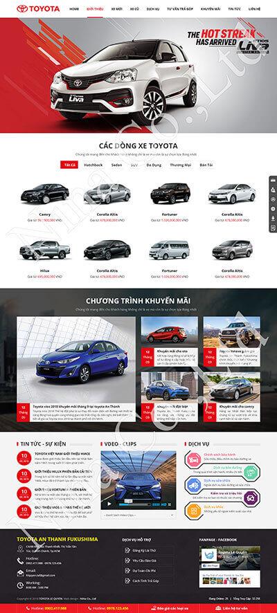 Toyota An Thanh Fukushima
