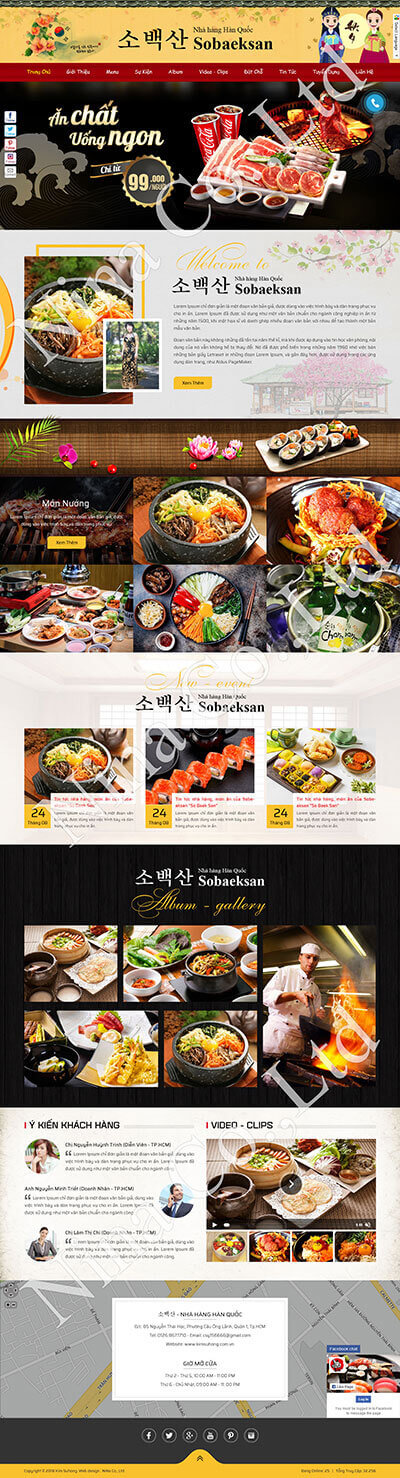 Nhà hàng Hàn Quốc Sobaeksan