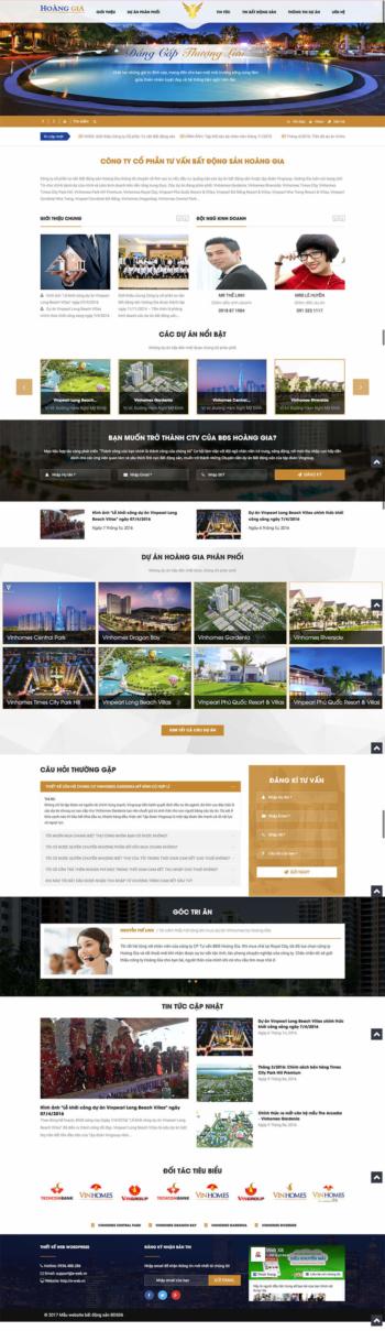 Web bất động sản