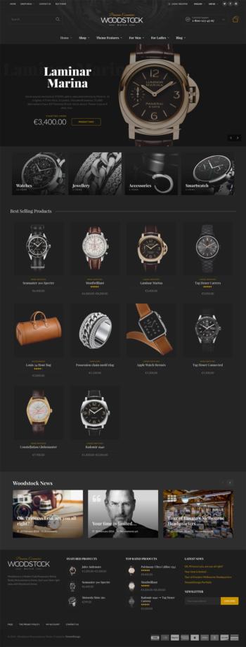 Web đồng hồ