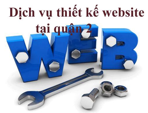 Dịch vụ thiết kế website tại quận 2