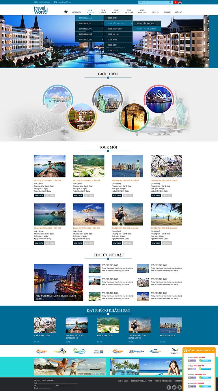 mau-website-du-lich-travel-world